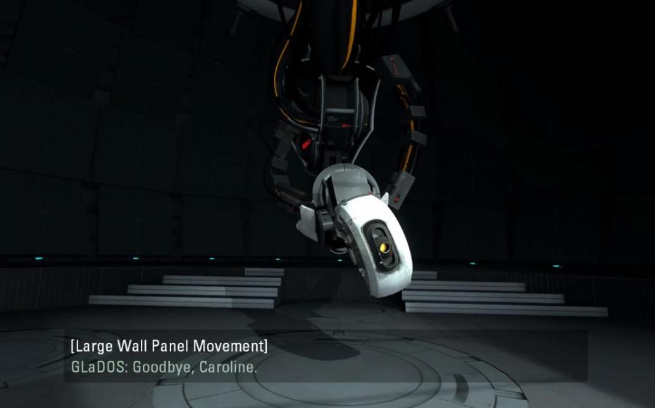Portal 2 cutscene
